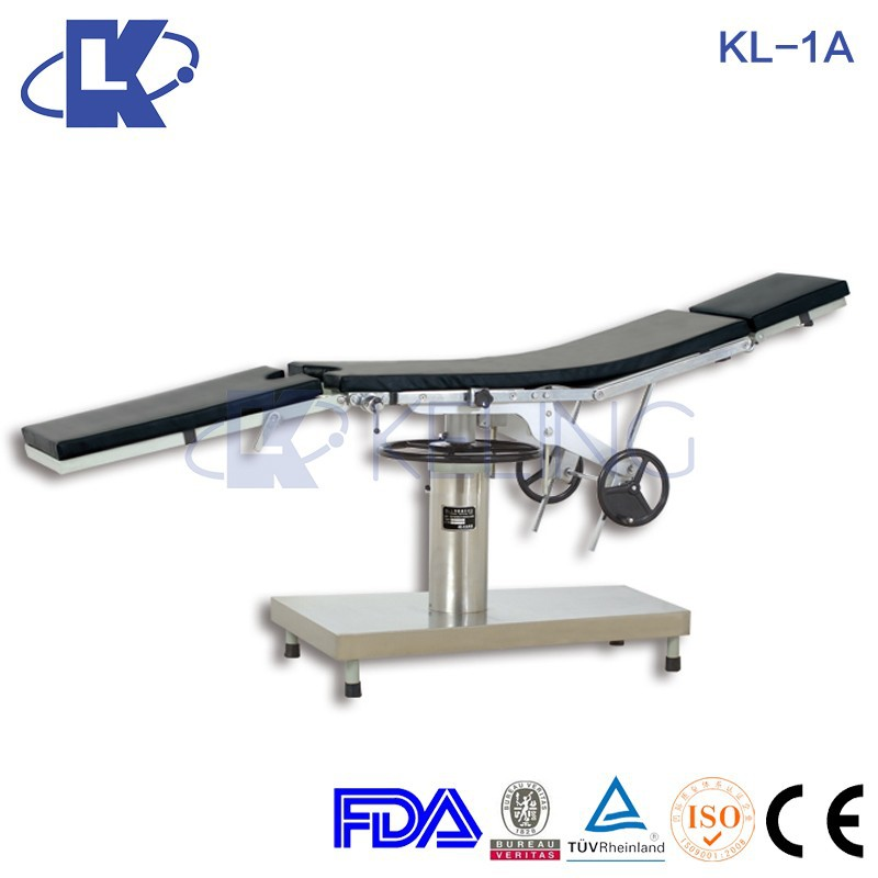 Cheapest! KL-1A Manual Hospital furniture OR Beds