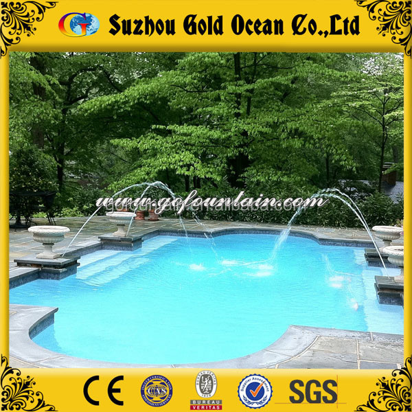 Beautiful CE Certified Swimming Pool Decorated Water Fountain