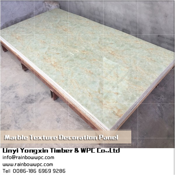 Bifrost Wholesale solid surface imitate marble texture faux stone shower wall panels