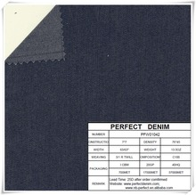 Jean,Garment Use and Woven Technics Flat Finish Denim Fabric