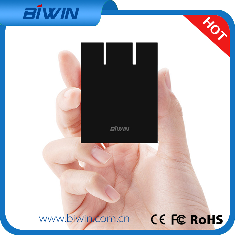 2016 New Product Biwin 128GB Solid State Drive Ultra Slim Portable External Hard Drive