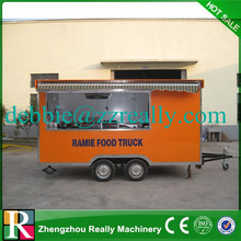 Welcome Customized Design Good Quality Electric buy mobile food truck/truck food