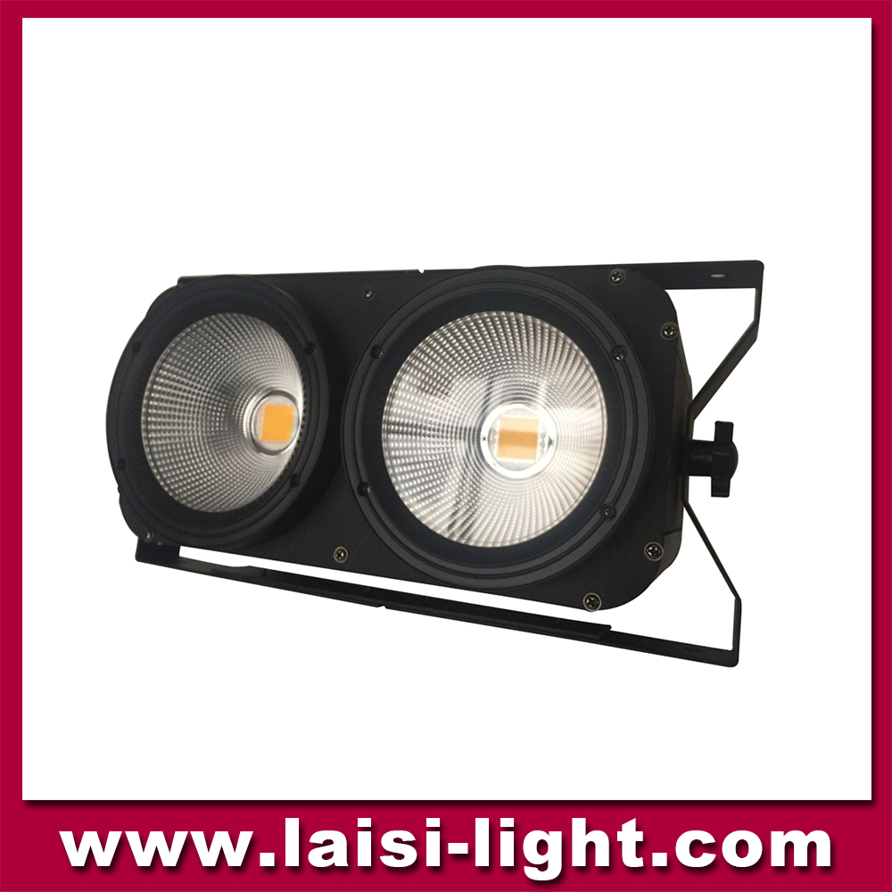 Factory direct sale 200w led 2 eyes blinder wash light stage equipment
