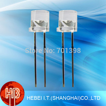 China Manufacturer Ultra Bright 5mm Led Diodes Straw Hat/Flat Top