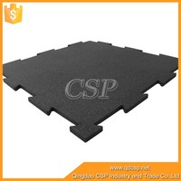 hot sales outdoor interlocking rubber floor tiles