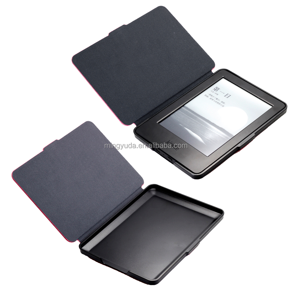 OEM factory Ultrathin Leather Case Cover For kindle ebook reader