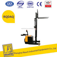 High standard lower price battery stacker electric pallet lifter