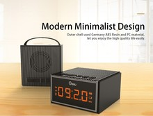 Gsou H3 NEW bluetooth speaker with CLOCK RADIO