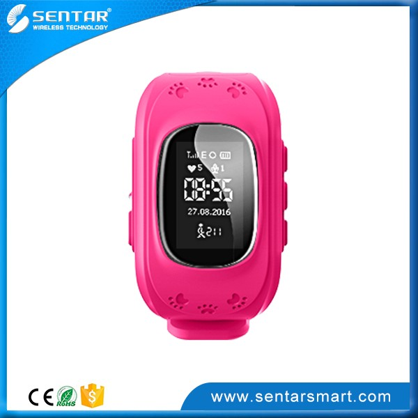 Hot Selling SOS Calling Real Time GPS Locating Kids Wrist Watch GPS Device Kids Watch
