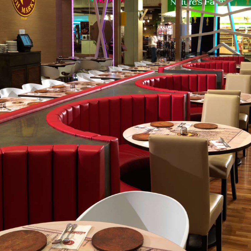 Modern Real Leather Circle Restaurant Booth Seating Buy Modern Real Leather Circle Restaurant Booth Seating Modern Real Leather Circle Restaurant Booth