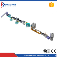 Superior pp pe bottle recycling machine