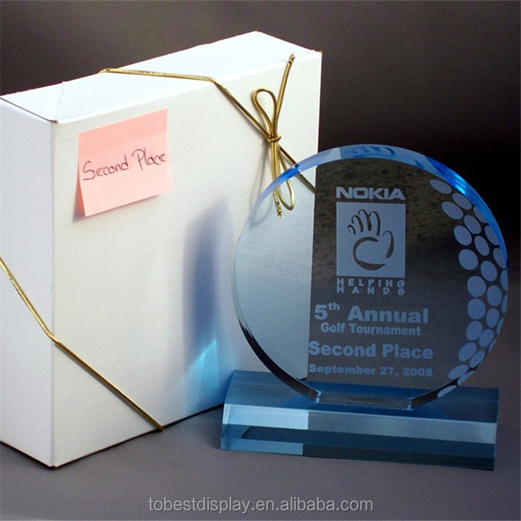 Wholesale acrylic crystal award, award plaques, lucite award trophy