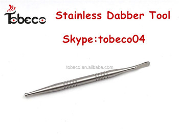 Tobeco different size different colors wax tool for wax dabber pen kit dabber tools in stainless