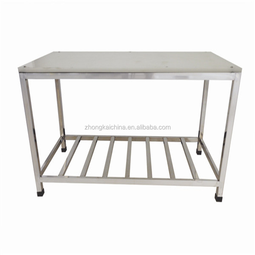 Hotel kitchen stainless steel working table/metal work table/used restaurant equipments
