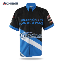 sublimated pit crew shirts racing team jerseys