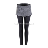2016 new design fashion women render divided yoga pants fashion softtextile women fitness wear