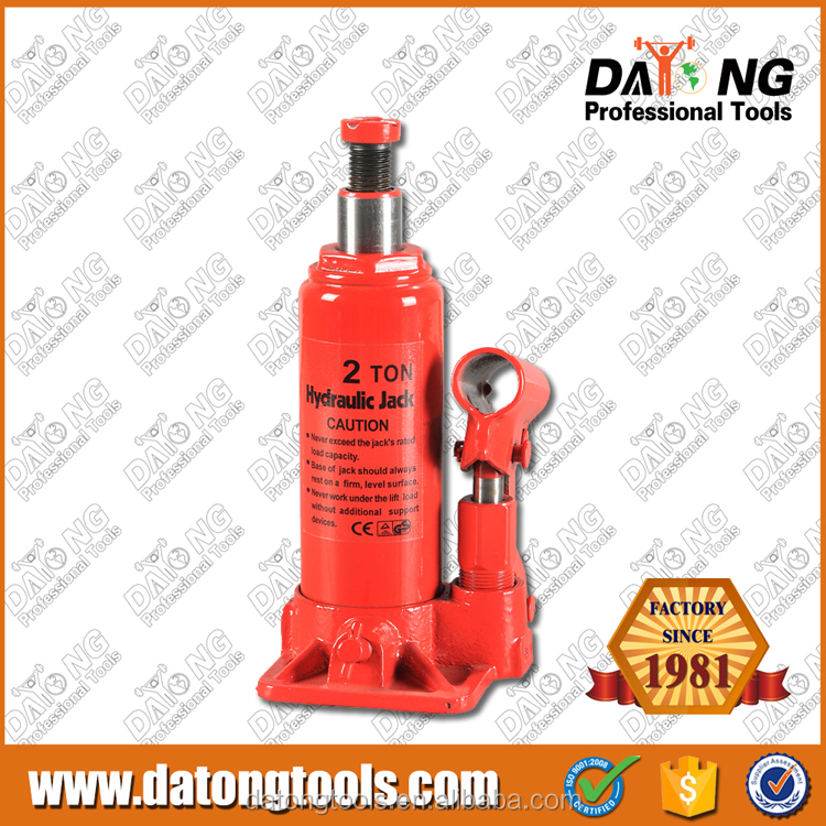 2T Hydraulic Bottle Jack Manual Repair Car Jack