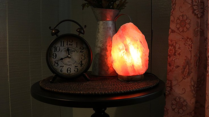 Natural Himalayan Salt Lamp Hand Carved