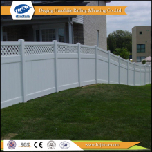 Vinyl garden portable privacy fence