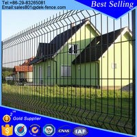 Top Selling Yard Metal Decorative Welded Wire Fence Panel Price
