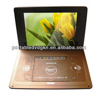 region free EVD portable dvd player with high definition input