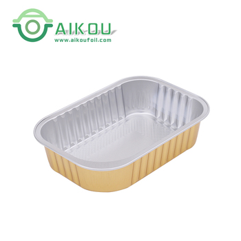 Microwave Oven Safe Sealing Aluminum Foil Food Container Model For Food  Storage