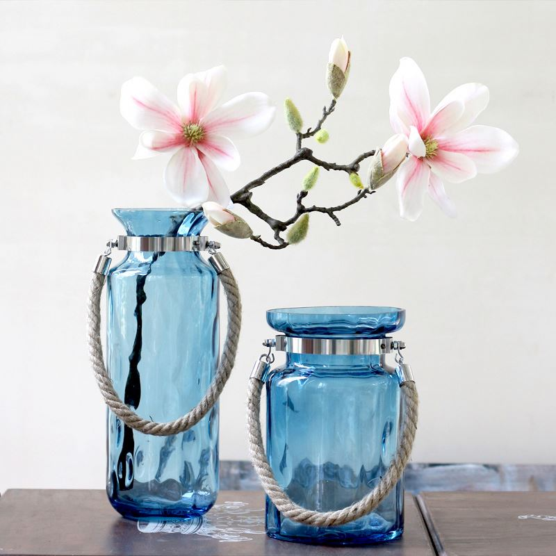 Clear Glass Vase /Home Decoration Types Of Flower Glass Vase With Flower
