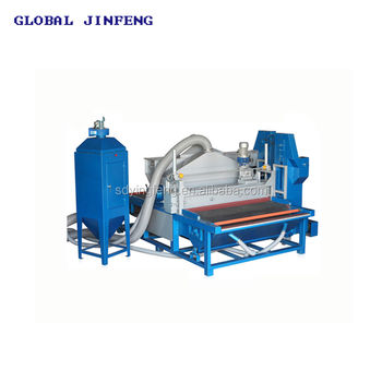 JFDS1800 Industrial tempering glass sandblasting equipment machine good market in India high efficiency with CE