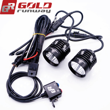 Hot offroad 12v 24v LED auto light led tractor work light 30w, motorcycle led crees driving lights 12v for truck, heavy duty