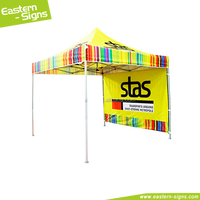 Strong Aluminum Folding Gazebo Canopy Aluminum Frame Pop Up Tent Folding Canopy