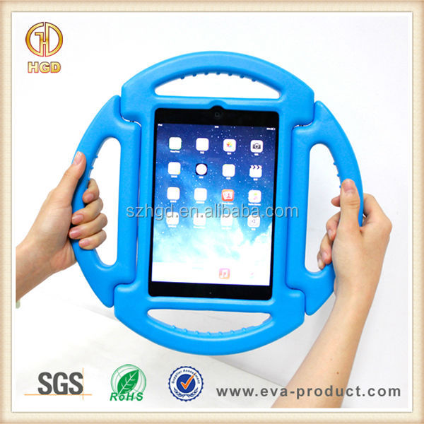 Manufacturer wholesale fall resistant new silicone case for ipad mini wheel