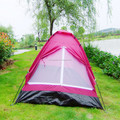 High Quality Ger Tent Family Tent 1-2Person Double Layer Rainproof Automatic Tent