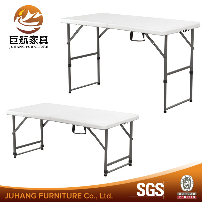 4' <strong>Folding</strong> Table Portable Plastic Outdoor Picnic Party Dining Camp Tables