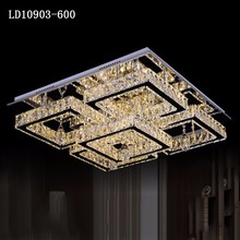 Factory outlet LED crystal modern chandelier
