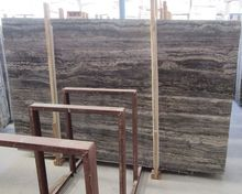 1.8cm Top Quality Iran Silver Travertine Slabs For Sale