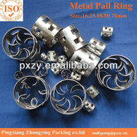 ZY Metal Pall Ring, 304&316ss Metal Pall ring tower packing