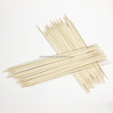 Bbq skewer set bamboo barbecue sticks for hot sale