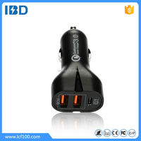 Qualcomm quick charge 3.0 shenzhen IBD wholesale phone accessories type-c port qc3.0 usb car charger for samsung galaxy s7