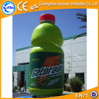 Giant inflatable inflatable liquor bottle, inflatable drink bottle for sale