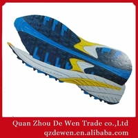 Rubber Phylon And TPR Material Latest Men Running Shoe Sole Design