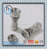 Titanium Nail 10mm&14mm&19mm 2 IN 1, 4 IN 1, 6 IN 1 domeless titanium nail, with male and female joint