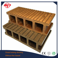 wood plastic composite profile extrusion machine made wpc decking floor