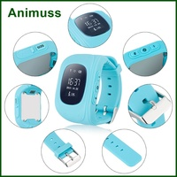 Rotating Camera,Games, Timer, Alarm Clock, Positioning SOS Emergency Alarm tracker smart wristband Q50 for Kid Child aged