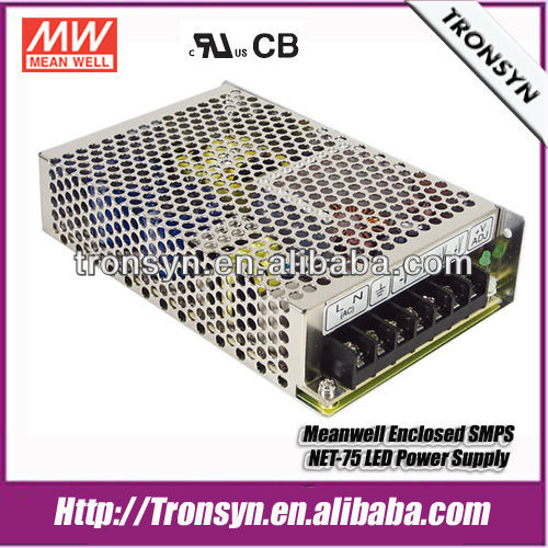 Meanwell Switching Power Supply NET-75D 75W LED Driver,SMPS Power Supply Circuit