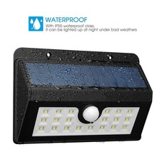 2018 Integrated LED Street Solar Sensor Light Outdoor Solar Garden Light