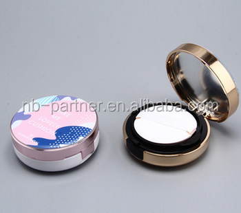 2017 OEM luxury BB cream packaging empty 15g air cushion compact / container for bb cream packing