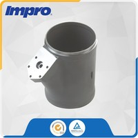 Lost wax ISO9001 Stainless Steel CB30 heavy duty machinery castings Cast for Automotive Engine Exhaust System