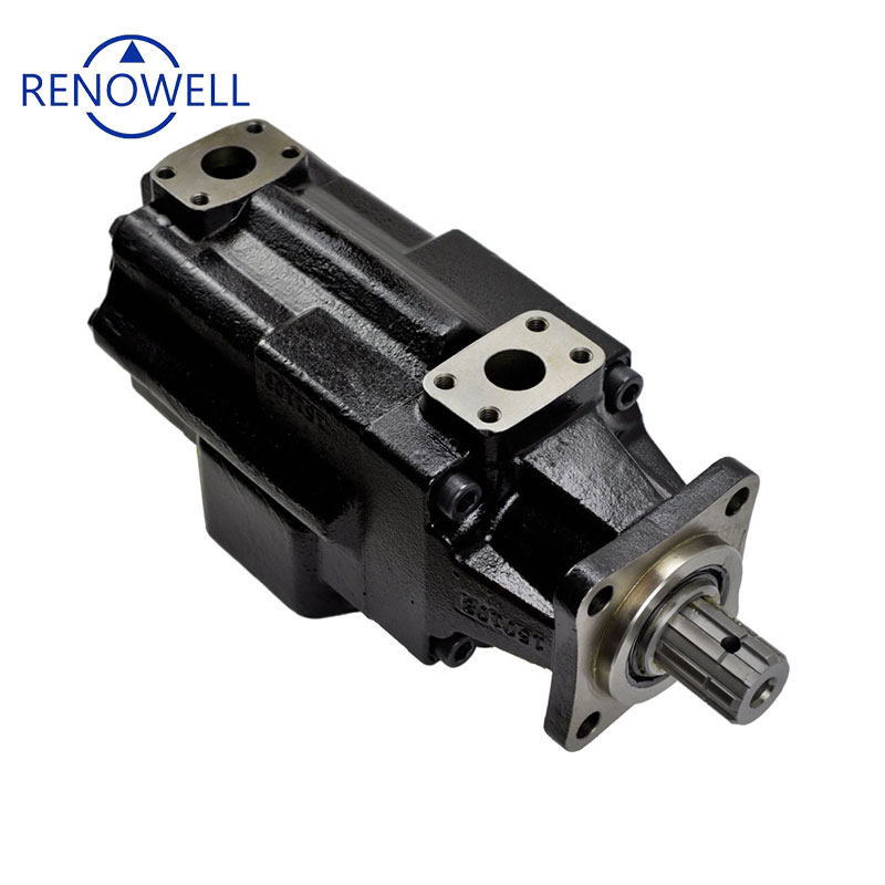 Renowell T67GCB Factory supply Low Noise t6 denison veljan vane pump for double