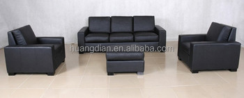 Customized Black Leather King Size Sofa Bed From Shunde Ss4040 Buy Black Leather King Size