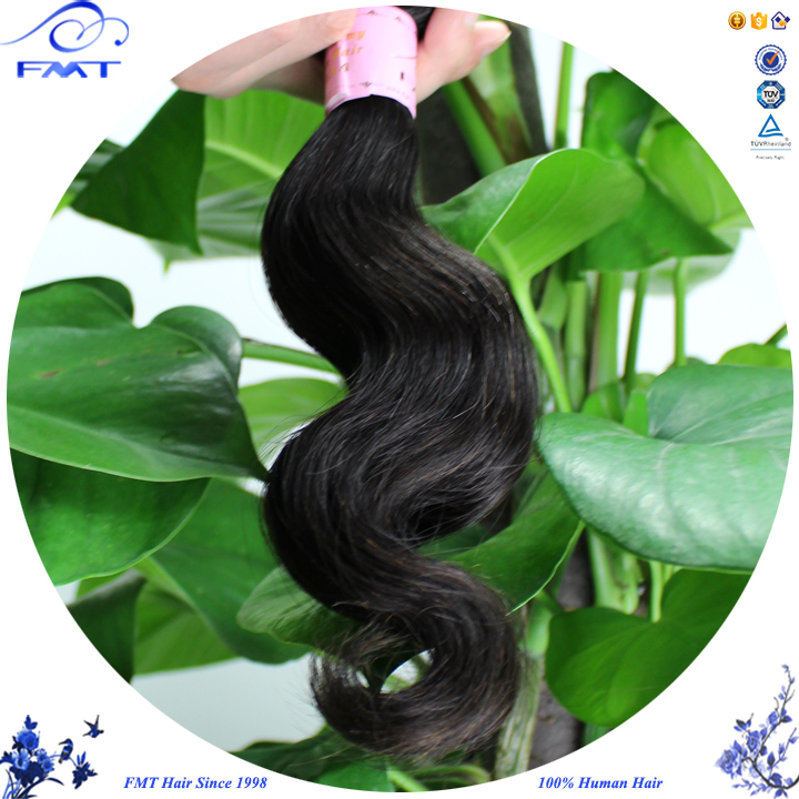 Wholesale cheap virgin 7A grade body wave india hair extensions for white women